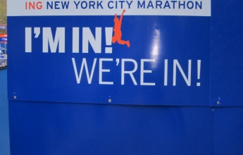 NY Marathon and NY City - I'm in! We're in!